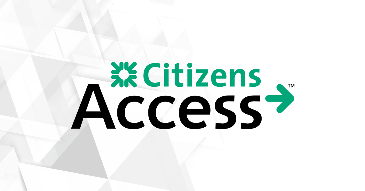 is citizens access fdic insured
